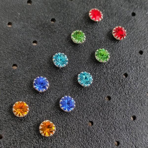 Minđuše Kolor S 4,4mm
