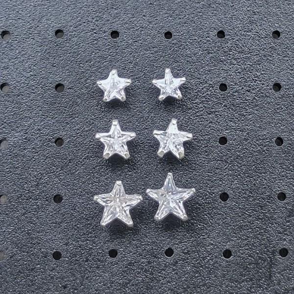 Minđuše Kristal Zvezde