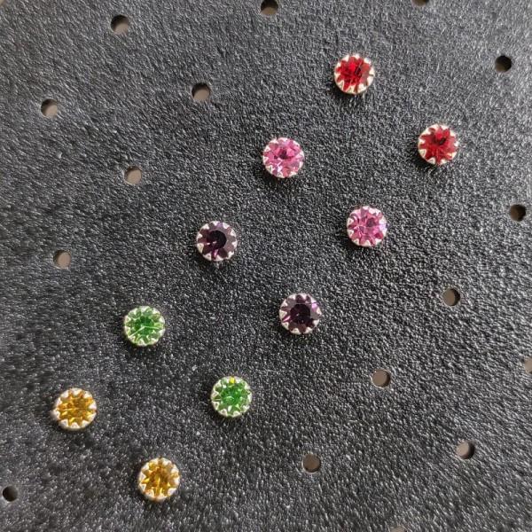 Minđuše Kolor S 3,4mm